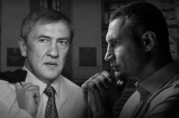 Кличко пытается дистанцироваться от связей с людьми Черновецкого и требует расследования в отношении «строительной мафии»