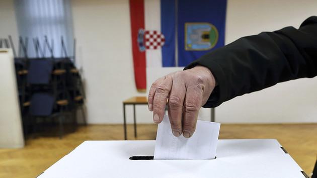 На выборах в парламент Хорватии правящая партия набрала большинство голосов