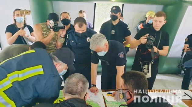 Полиция рассматривает несколько версий о причинах возникновения пожаров в Луганской области