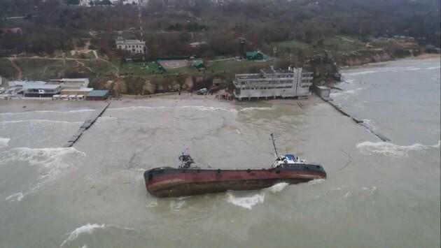 Авария танкера Delfi нанесла убытков на более $15 млн  — Госэкоинспекция