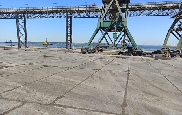 Из Николаевского порта вывезли тысячи тонн аммиачной селитры – администрация