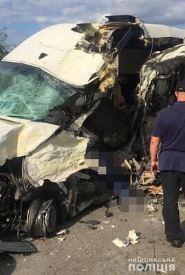 На Житомирской трассе в ДТП погибли четыре пассажира маршрутки