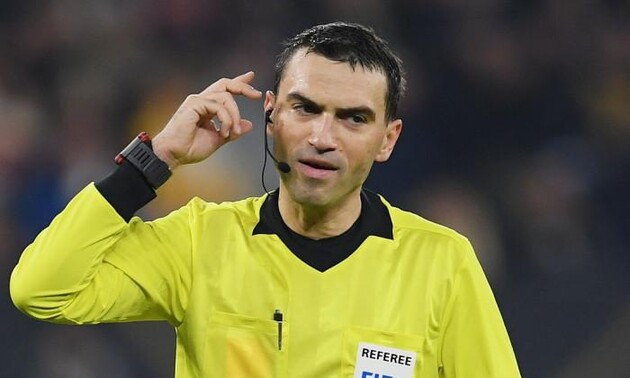 Германия Украина - назначен арбитр на матч Лиги наций