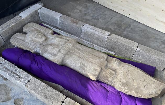 Археологи нашли в Мексике статую женщины из высшего сословия
