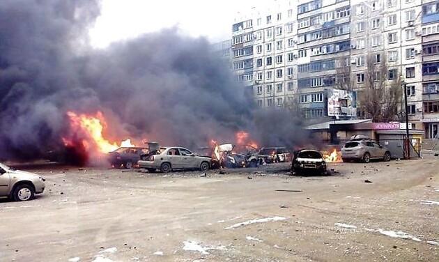В Мариуполе почтили память жертв обстрела «Восточного» российскими оккупантами: фоторепортаж
