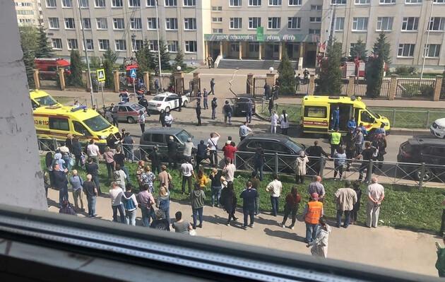 Стрельба в одной из школ Казани: число погибших возросло до 13