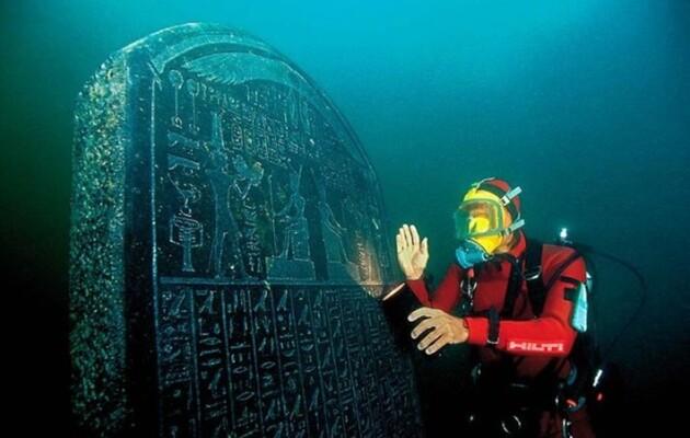 В египетском порту Гераклион подводные археологи нашли древние плетеные корзины с фруктами