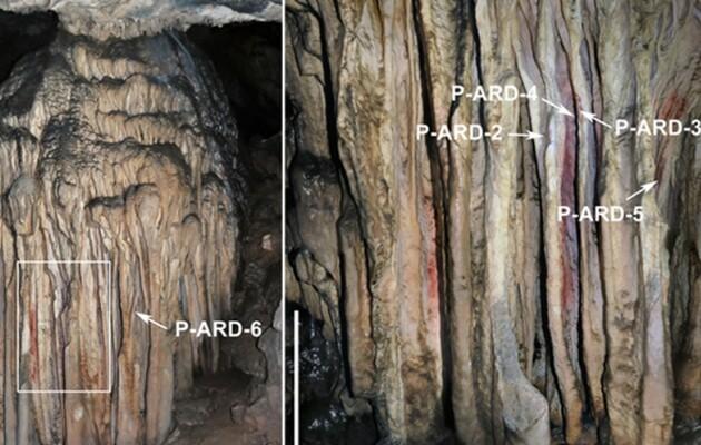 В испанской пещере нашли рисунки неандертальцев возрастом 65 тысяч лет