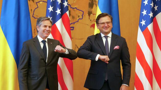 Кулеба и Блинкен обсудили визит Зеленского в США