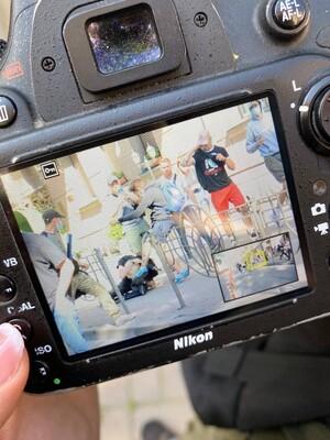 Напавший на фотокорреспондента Букв получил условный срок