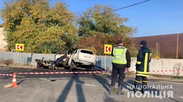 Смертельное ДТП на Закарпатье — 4 погибших, включая полицейского и пограничника