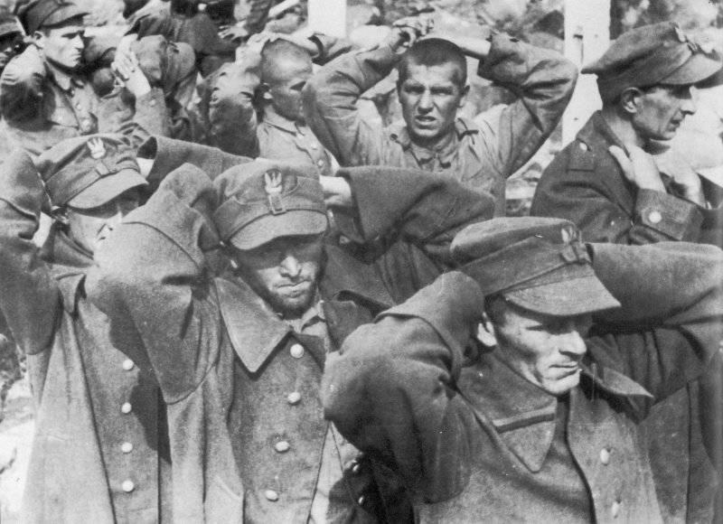 Капитуляция защитников Вестерплатте, 7 сентября 1939 г.