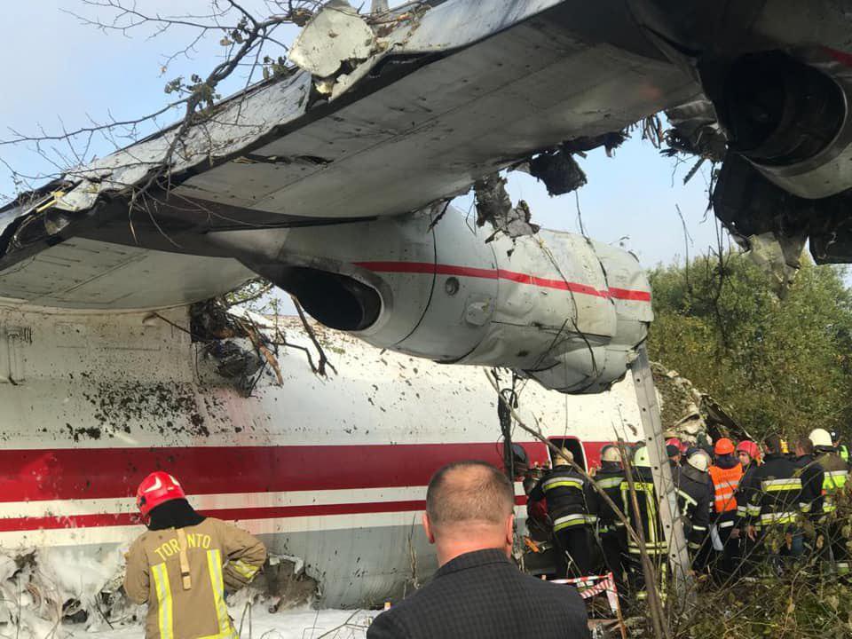 Фоторепортаж разбившийся самолет