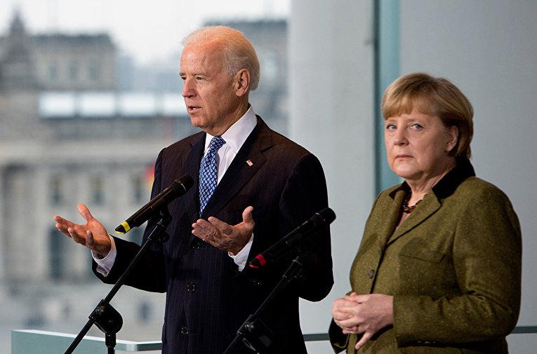 Встреча Байдена и Меркель - Зеленский поделился ожиданиями