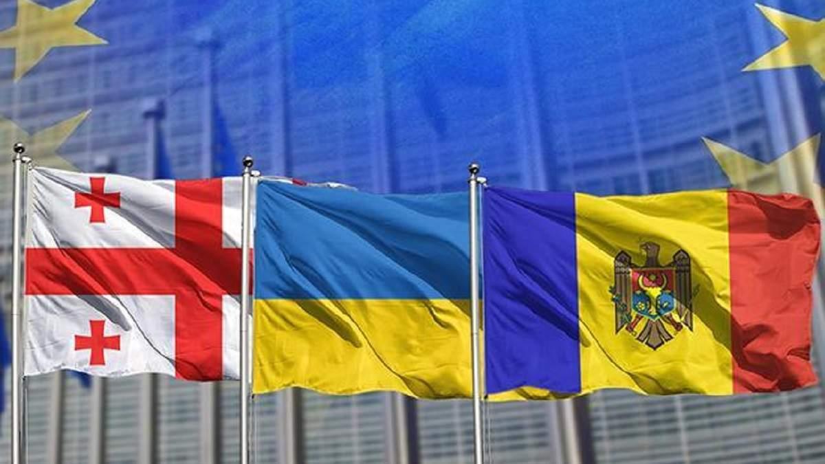 Главы МИД Грузии и Молдовы подпишут с Украиной совместный меморандум