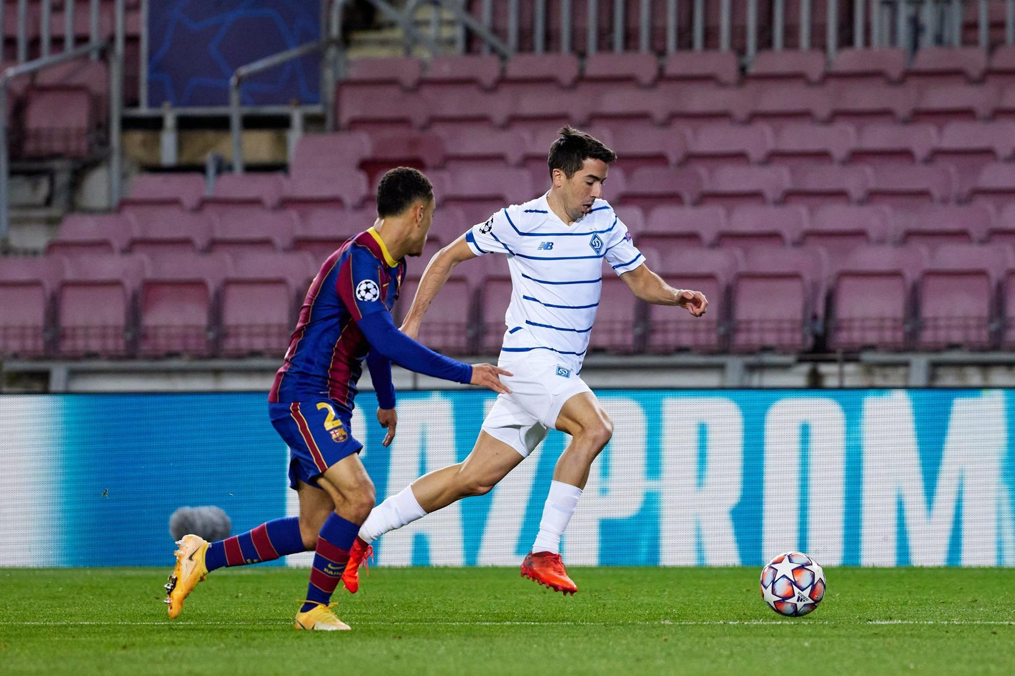 Dinamo Barselona Startovye Sostavy Komand Na Match Ligi Chempionov 24 Noyabrya