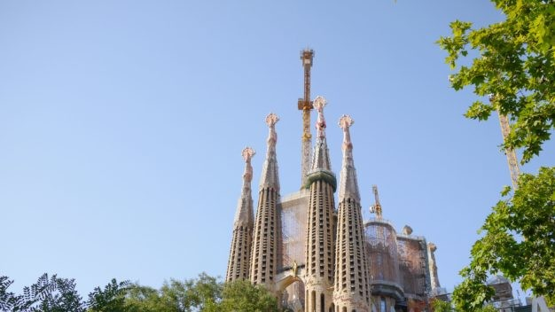 6. Basilica of the Sagrada Familia, Barcelona, Spain